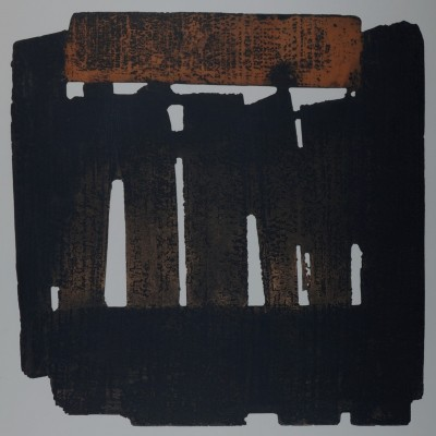 Details of Pierre Soulages - n°XXXIV, 1978