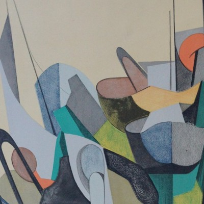 Details of Daniel Perré - Abstract Composition, 1966