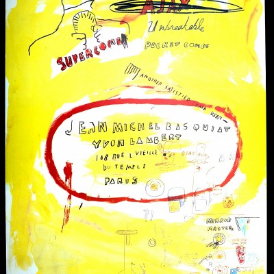 Details of Jean Michel Basquiat - Super Comb, 1988