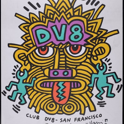 Details of Keith Haring - DV8-San Francisco, 1987