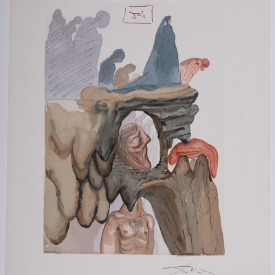 Details of Salvador Dali - Divine Comedy, Hand signed, 1964