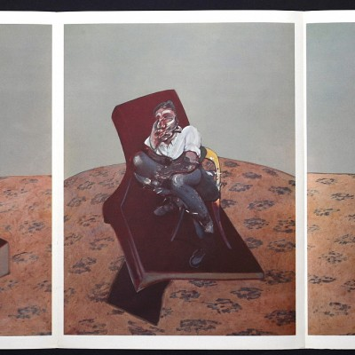 Details of Francis Bacon - triptych, 1966