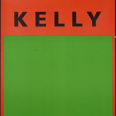 Details of Ellsworth Kelly -  Orange et Vert, 1954