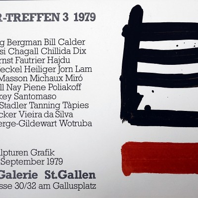 Details of Pierre Soulages, Erker-Treffen 1979