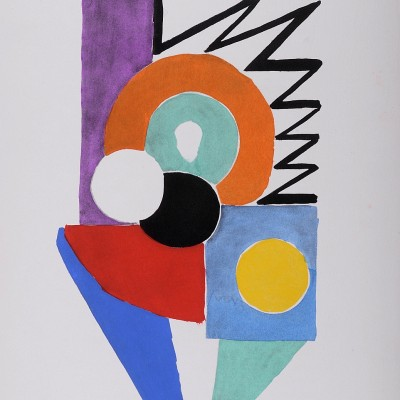 Details of Sonia Delaunay : Tableaux vivants 1969