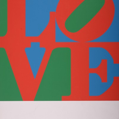 Details of Robert Indiana : Love Wall 1/4, 1967