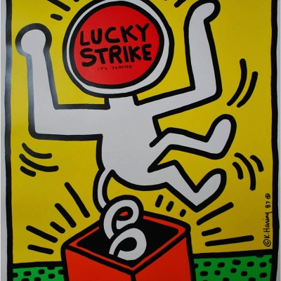 Details of Keith Haring : Lucky Strike, 1987