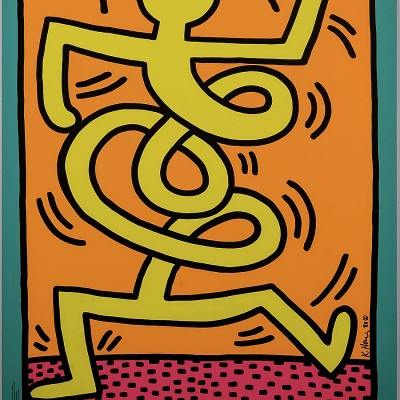 Details of Keith Haring : Montreux Jazz Festival, 1983 2/3