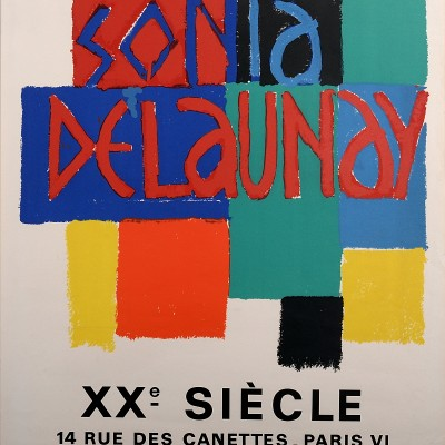 Details of Sonya. Delaunay : XXème siècle 1968