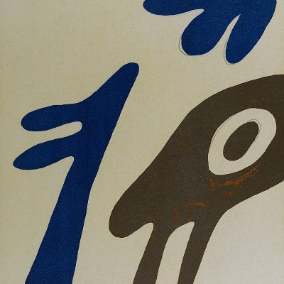 Details of Jean ARP   torso and navel on table  1962