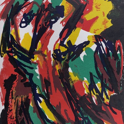 Details of Karel APPEL   Abstract person  1961