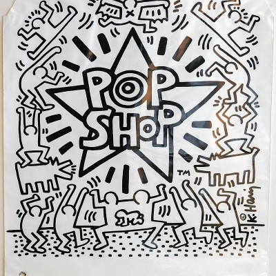 Details of Keith HARING   Pop shop Bag   1986