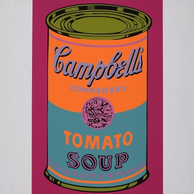 Details of  Andy Warhol - Campbell's Tomato, 1968
