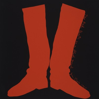 Details of Jim Dine - Two Red Boots, 1968