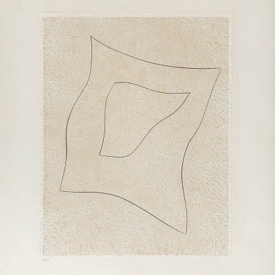Details of Jean ARP   Découpage N°5 The Star  1961