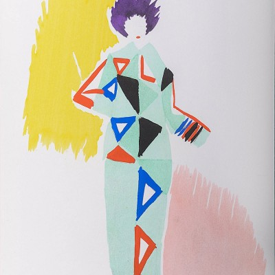 Details of Sonya DELAUNAY - Costumes, 1969