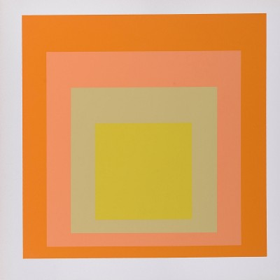 Details of Josef ALBERS  Homage to the Square, 1968