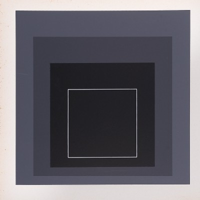 Details of Josef ALBERS   Homage to the Square