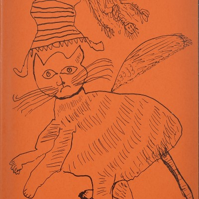 Details of Andy Warhol : Holy Cats, C. 1957