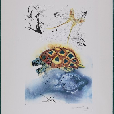 Details of Salvador Dali : the mock turtles story, 1969