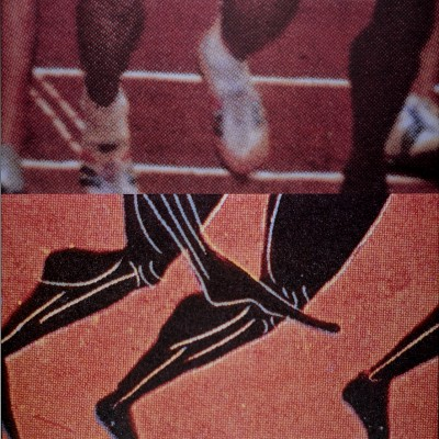 Details of John Baldessari Los Angeles Olympic 1984