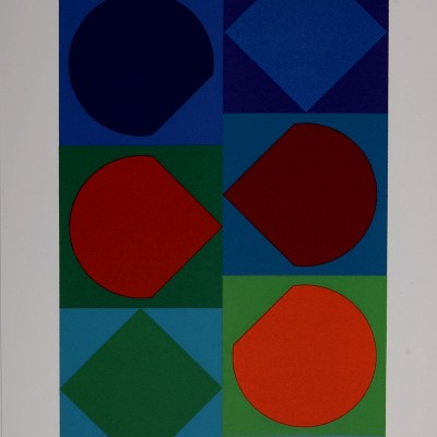 Details of Victor Vasarely : Beryll 1972