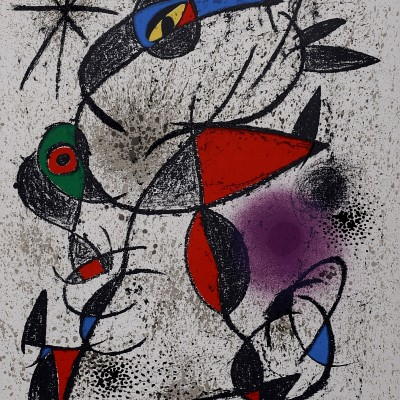 Details of Joan Miro - Jaillie du calcaire 1972