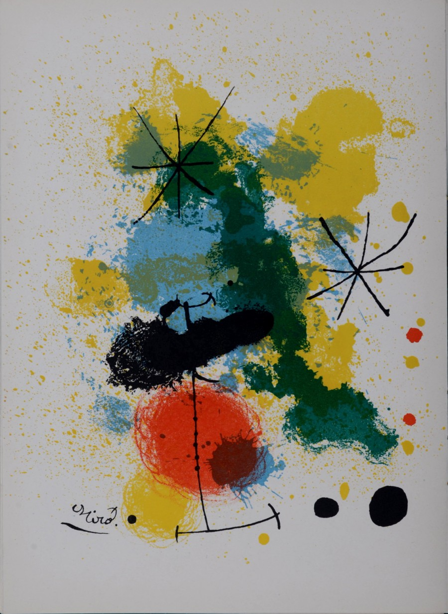 Original of Juan Miro Composition, 1964 for sale