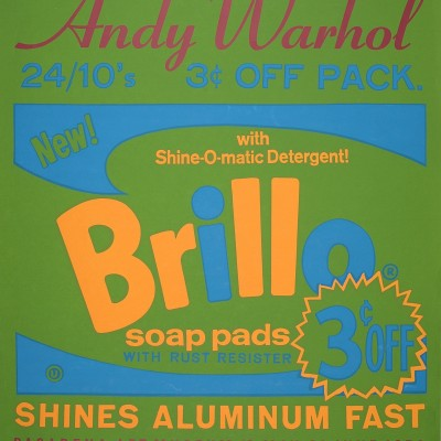 Details of Andy Warhol : Brillo, 1970