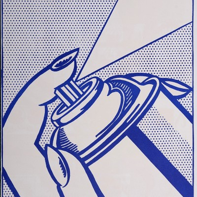 Details of Roy Lichtenstein, American : Spray Can, 1964