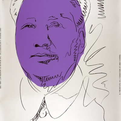 Details of Andy Warhol -  Mao, 1989/90