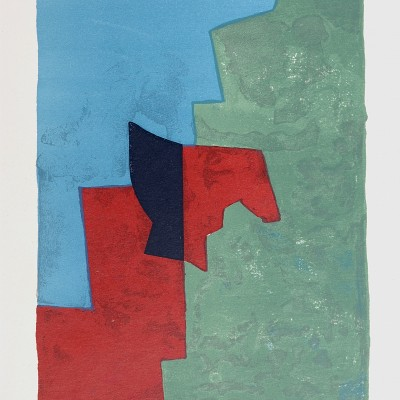 Details of Serge Poliakoff - Composition rouge, verte et bleue L32
