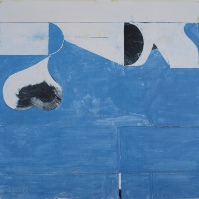 Details of Richard Diebenkorn Los Angeles Olympic 1984