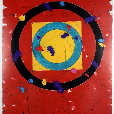 Details of Sam Francis Los Angeles Olympic 1984