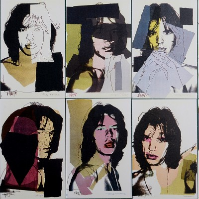 Details of Andy Warhol - Mick Jagger, 1975